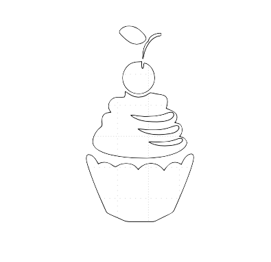 Le cup cake